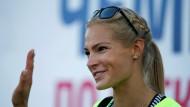 Weitspringerin Darja Klischina: Startrecht mit Sondererlaubnis beantragt.