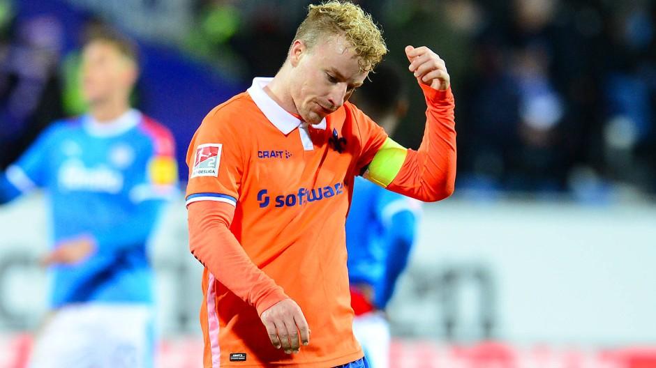 Wird in Darmstadt dringend gebraucht: Kapitän Fabian Holland