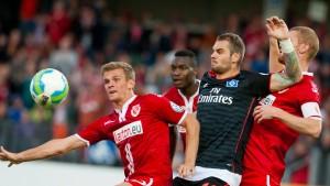 HSV verhindert die Blamage im Elfmeterschießen