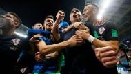 Unglaublich, aber wahr! Kroatien steht im WM-Endspiel.