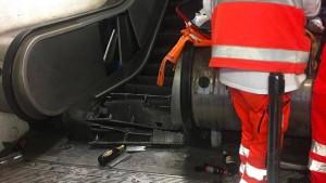 Viele Verletzte in Rom bei Rolltreppen-Einsturz