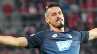 Trikotwechsel? Sandro Wagner könnte bald wieder ein Bayern-Shirt tragen.