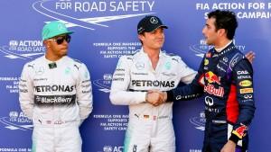Keine Strafe für Rosberg
