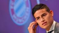 Der Neue ist da: James Rodriguez kommt von Real Madrid zu Bayern München.
