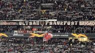 Das Gesetz der Kurve: Hier haben die Eintracht-Ultras das Sagen.