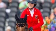Reiterin und Pferd: Simone Blum mit Alice.