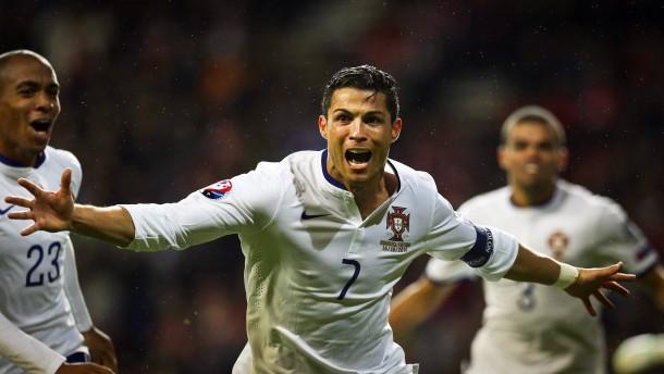 Ronaldo rettet Portugal in der 95. Minute