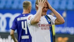 Hamburger SV schickt Bielefeld vor