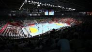 Hier, in Doha, wird die Handball-WM 2015 gespielt – allerdings nicht im deutschen TV