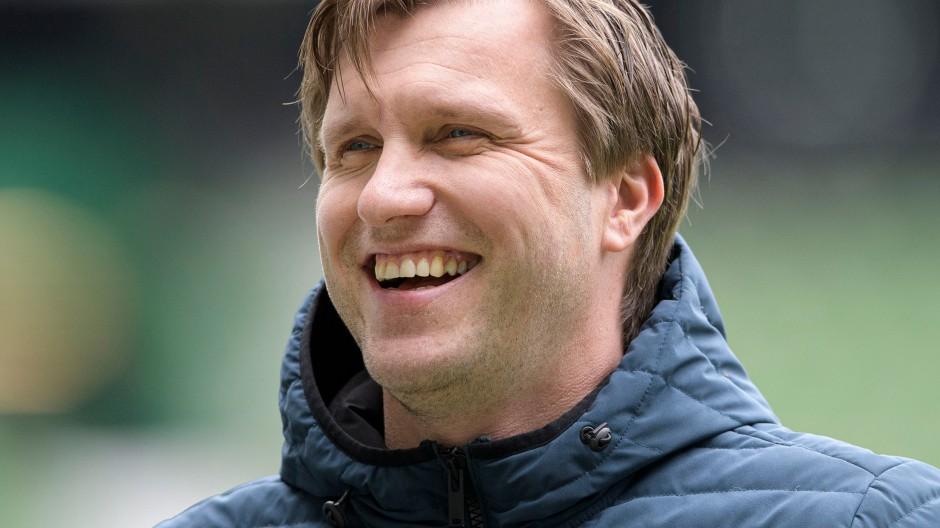 Markus Krösche von Eintracht Frankfurt