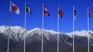 Die Berge bei Sotschi sind rechtzeitig fertig geworden