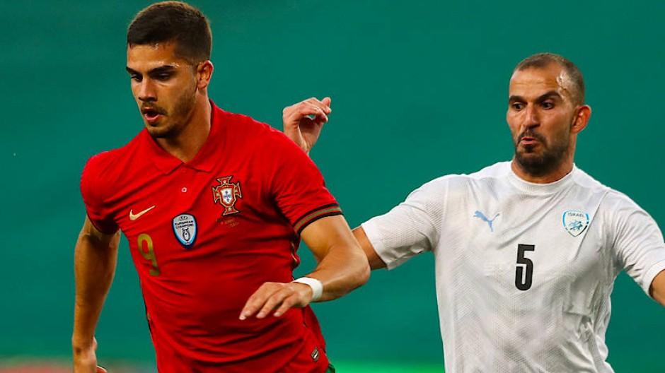 André Silva kennt die deutschen Spieler besser als seine Kollegen aus Portugal.