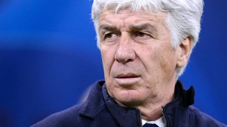 Bergamo-Trainer Gian Piero Gasperini und reiste dennoch nach Valencia.
