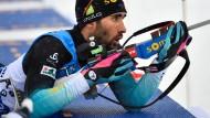 Es läuft nicht mehr rund beim bisherigen Biathlon-Dominator Martin Fourcade.