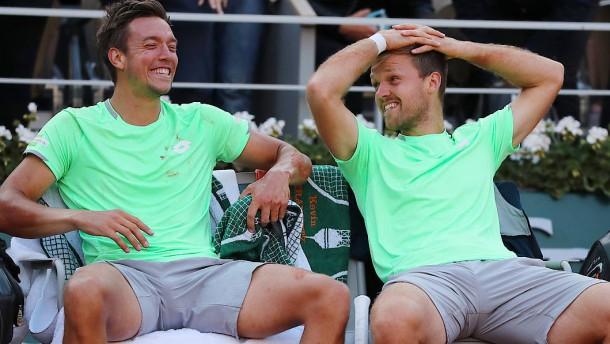 Deutsches Tennis-Doppel glänzt bei French Open