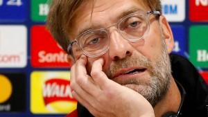 Die Sorgen des Jürgen Klopp werden größer