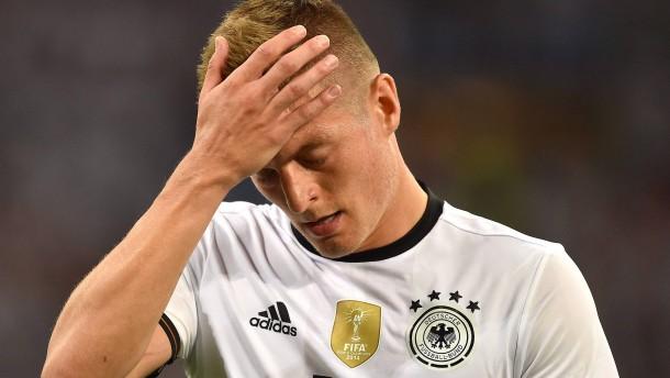 Sorge um verletzten Nationalspieler Kroos