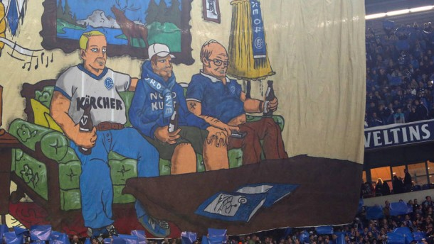 Schalke feiert sich selbst