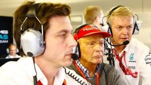 Mercedes verlängert mit Wolff und Lauda
