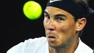 Rafal Nadal hat das Wesentliche im Blick und steht im Halbfinale.