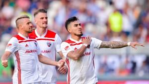 Die zweite Liga rückt für Wiesbaden in weite Ferne