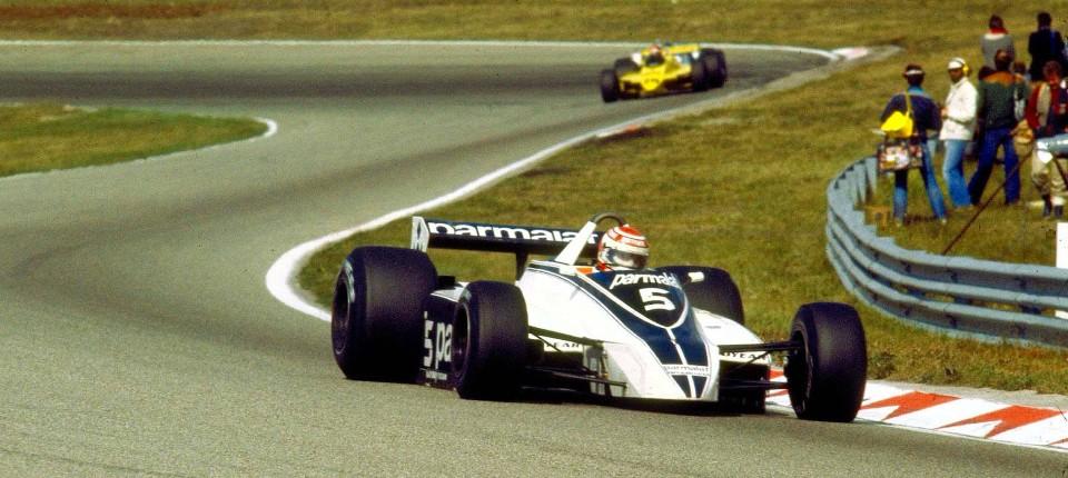 Zurück in den Dünen: Im Bild fährt Nelson Piquet 1980 auf dem Rundkurs von Zandvoort.