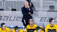 Bewährungsprobe: Der Finne Toni Söderholm geht in seine erste WM als Eishockey-Bundestrainer