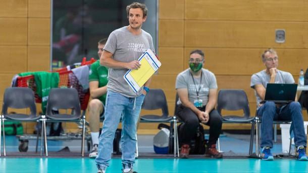 Glücksfall Bayern für Volleyballtrainer Steuerwald