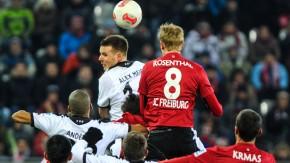 Freiburg und Frankfurt wollen hoch hinaus - treffen das Tor aber nicht