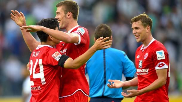 Mainz schießt die zweite Borussia ans Tabellenende