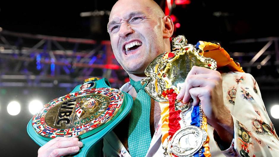 Tyson Fury ist wieder Weltmeister im Schwergewicht.