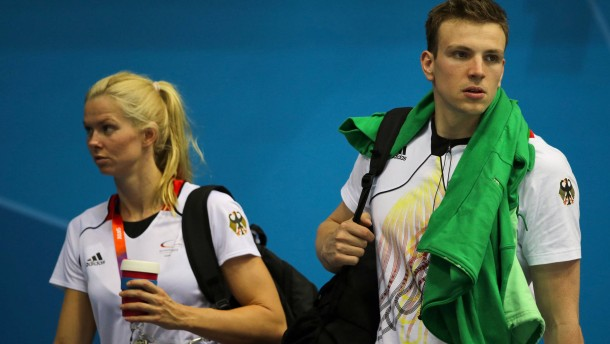 Britta Steffen und Paul Biedermann getrennt