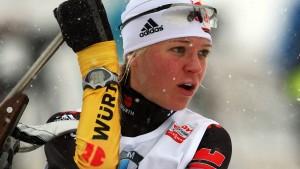 Erster Weltcupsieg für Miriam Gössner