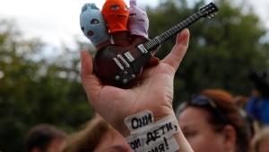 Zwei Jahre Lagerhaft für Pussy Riot