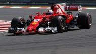 Eisname Spitze: Sebastian Vettel