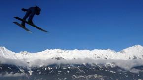 Nur der Pole Kamil Stoch flog in Innsbruck noch ein bisschen weiter