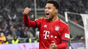 FC Bayern verlängert vorzeitig mit Gnabry