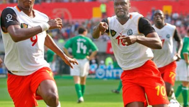 Dämpfer für Kamerun: Nur 1:1 gegen starke Iren