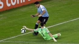 Suárez fordert Elfmeter – nach Handspiel vom Torwart