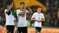 Weltmeisterlich: Die deutsche Nationalmannschaft ist auf Kurs zum Gruppensieg in der Qualifikation