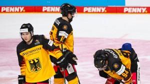 Deutsches Eishockey-Team bricht Training ab