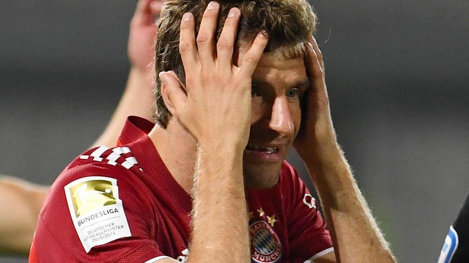 Torschütze und doch nicht zufrieden: Thomas Müller