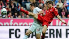 Die Mainzer stemmten sich im Kampf um Punkte für den Klassenverbleib gegen die Bayern