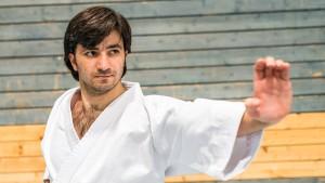 Für Wael Shueb wird ein Karate-Märchen wahr