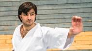 Kämpfernatur: Wael Shueb startet bei der Karate-WM in Linz.