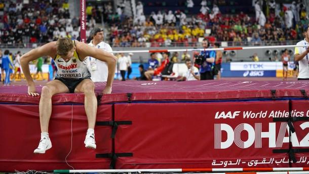 Europameister Przybylko besiegt vom Kopfwurm