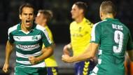 Panathinaikos Athen ist auf dem Weg in die Gruppenphase der Europa League.