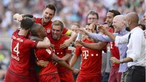 Nichts kann diese Bayern stoppen