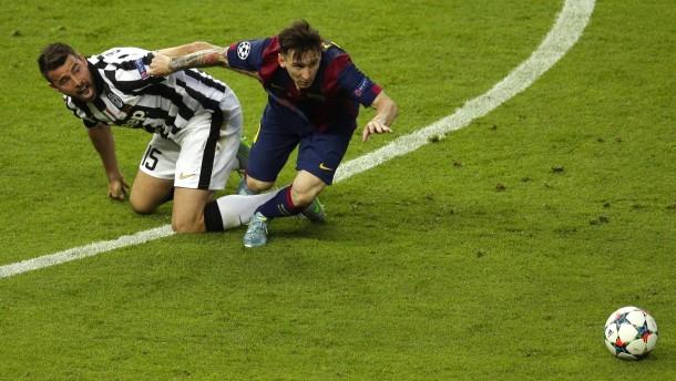 Messi-Gala ohne Tor