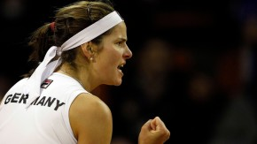 Später setzte sich auch noch Julia Görges gegen Kristina Mladenovic durch